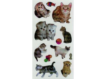 Samolepky Kočičky 2