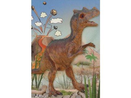 Pohlednice Dinosuarus