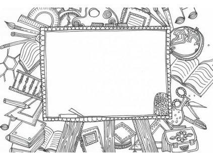 Pohlednice k vymalování - tabulka