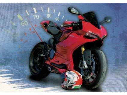 Pohlednice Motorka Ducati