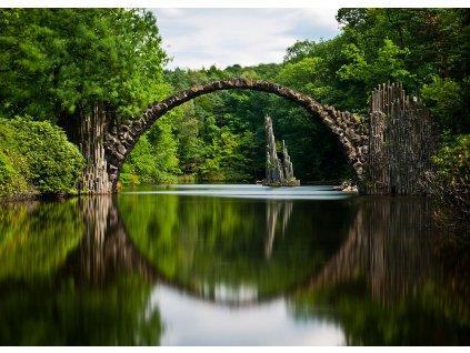 Pohlednice Ďáblův most, Německo