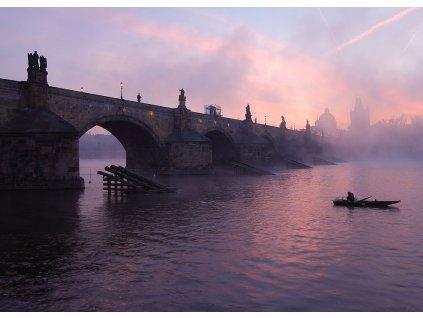 Pohlednice Karlův most 4