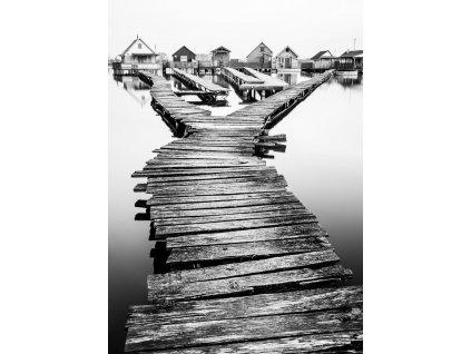 Pohlednice Domky na jezeře