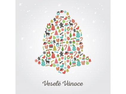 Pohlednice Vánoční zvoneček