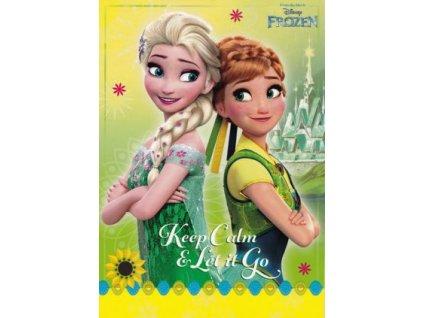 Pohlednice Frozen 2 (Ledové království)