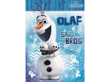 Pohlednice Frozen 4 (Ledové království)