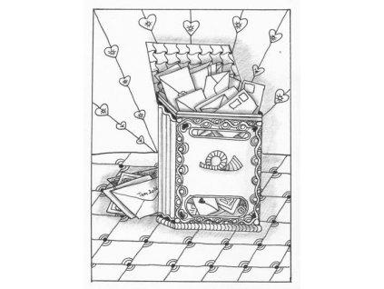 Pohlednice Poštovní schránka