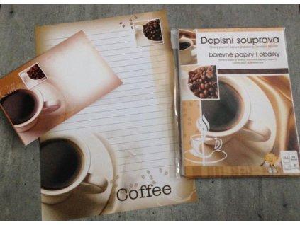 Dopisní sada Káva