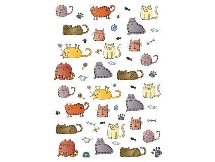 Pohlednice plná koček
