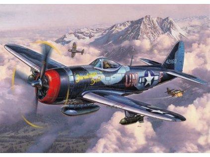 Pohlednice Letadlo P-47