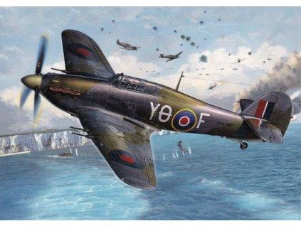 Pohlednice Letadlo Hawker Hurricane