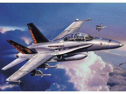 "Pohlednice Letadlo F/A-18 D Hornet ""Wild Weasel"""