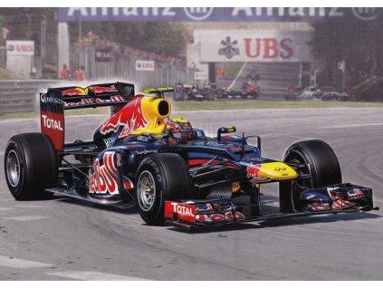 "Pohlednice Formule Red Bull Racing RB8 ""Mark Webber"""