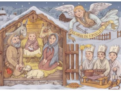 Pohlednice Vánoční 7