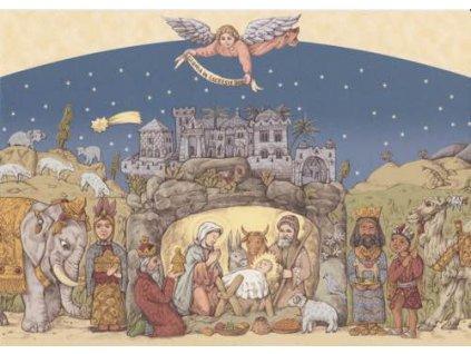 Pohlednice Vánoční 9