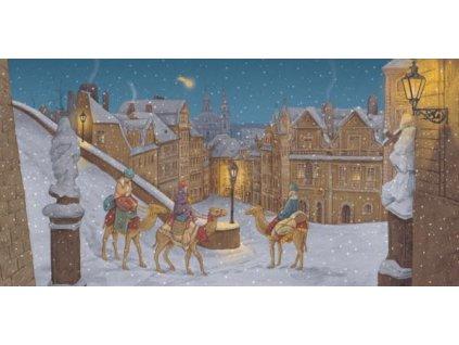 Pohlednice Vánoční 10