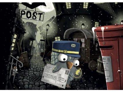 Pohlednice Mědvěd Wrr - Poštovní holub Pipp