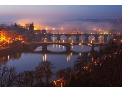 Pohlednice Pražské mosty