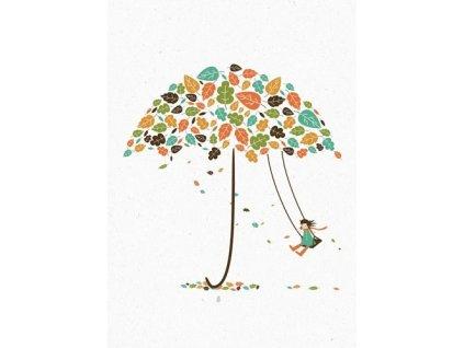 Pohlednice Podzim