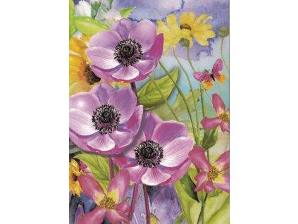 Pohlednice Květinky 1