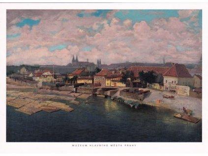 Pohlednice Podskalí Praha