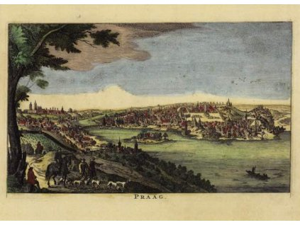 Pohlednice Praha