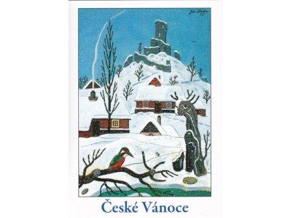 Vánoční pohlednice Josef Lada 3