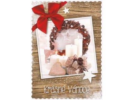 Pohlednice Krásné Vánoce