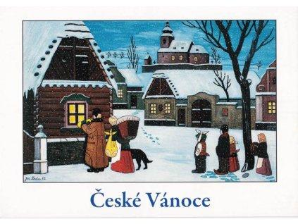 Vánoční pohlednice Josef Lada 5