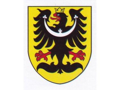 Samolepka Slezská orlice
