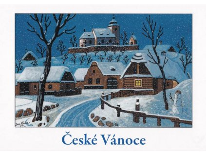 Vánoční pohlednice Josef Lada 13