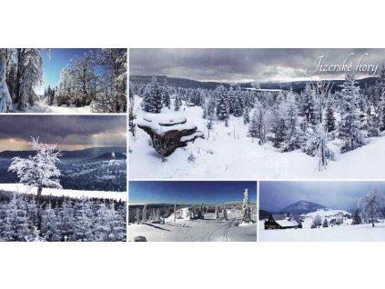 Pohlednice Jizerské hory