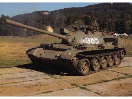 Pohlednice Tank T-55