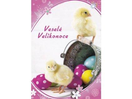 Pohledncice Velikonoční kuřátka 10