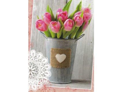 Pohlednice Tulipány 4