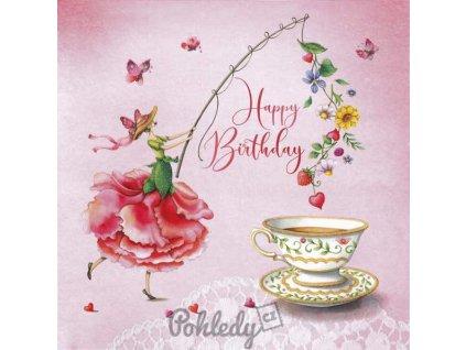 Pohlednice Happy Birthday