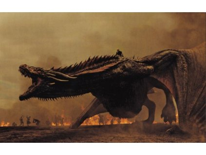 Pohlednice Game of Thrones - Drogon