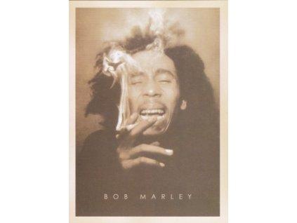 Pohlednice Bob Marley