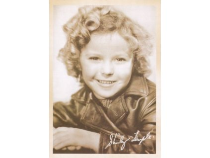 Pohlednice Shirley Temple