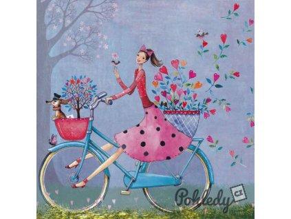 Pohlednice Na kole