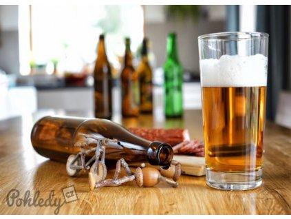 Pohlednice Dubánek pivař