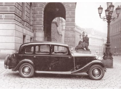 Pohlednice Škoda Superb 640