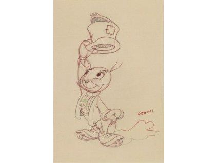 Pohlednice Pinocchio 5