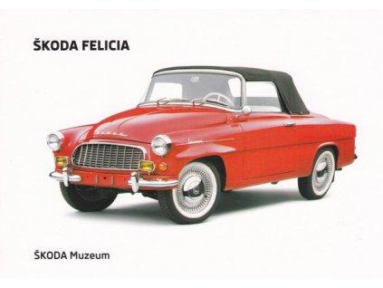Pohlednice Škoda Felicia