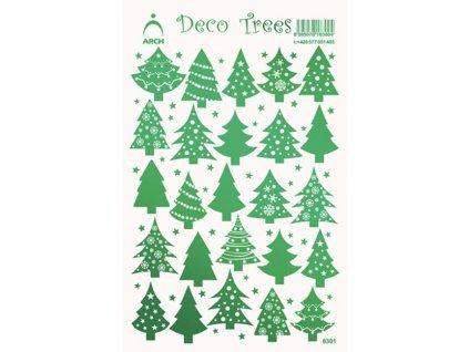 Samolepky Stromečky - zelené