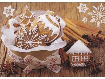 Pohlednice Vánoční perníčky