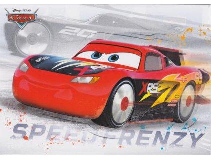 Pohlednice Cars 16 - Blesk McQueen