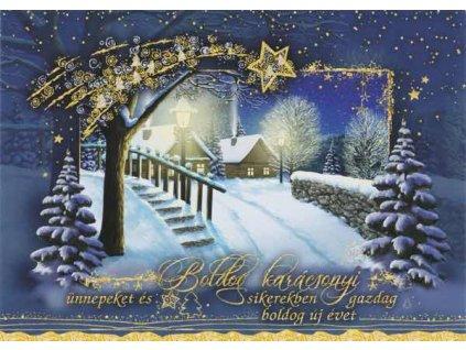 Vánoční pohlednice 6