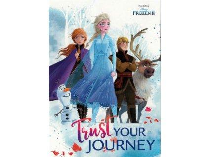 Pohlednice Frozen 12 (Ledové království)