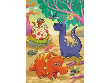 Pohlednice Dinosauři